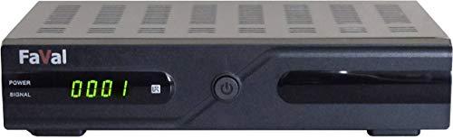 Faval SRX1+ HD-SAT-Receiver Campingbetrieb, Unicable 2-fähig, Aufnahmefunktion Anzahl Tuner: 1