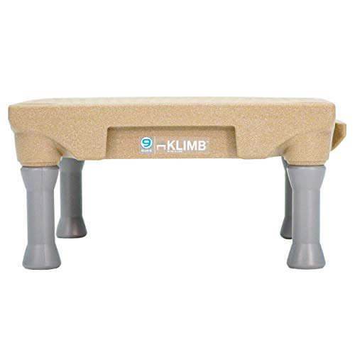 Blue-9 Pet Products KLIMB Dog Training Platform and Agility System, Durable and Portable for Indoor or Outdoor Use, Desert Tan