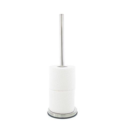 Tiger Toilettenpapierhalter für Ersatzrollen, Edelstahl poliert, 13,4 x 13,4 x 42,9 cm