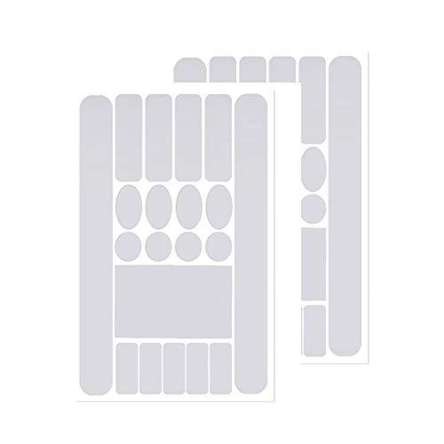 WXLAA Adhesivo protector para marco de bicicleta antiarañazos para cadena MTB o...