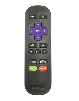 Amaz247 Wi-Fi Remote for Roku Streaming Stick  3500r 3500rw 3600 3800 3810  Roku 3  4200r  Roku 2  2720r ,Roku Ultra Roku Premiere Roku Express  3900X  Roku Express+