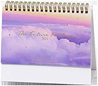 $27 » LYLY Desk Calendar 2021 Dask Calendar Series Desktop Calendar Dual Daily Schedule Table Planner Yearly Organizer Office Da...