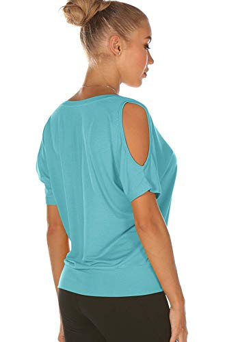icyzone Yoga T Shirts