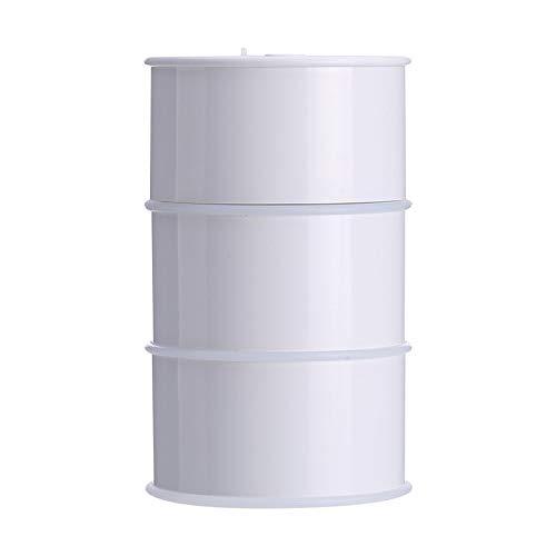 Olievat USB mini aroma luchtbevochtiger slaapkamer nachtkastje thuiskantoor slaapkamer bureau-nachtlampje spray lucht aroma diffuser stille creatieve vloeistoftoevoer 175 ml wit