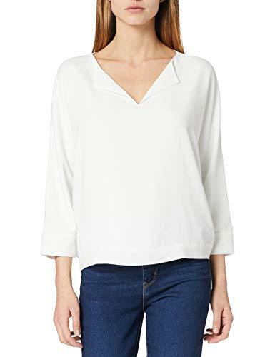 Weiße Polyester-Bluse für den Büro-Alltag
