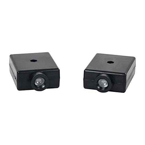 MSW - Infrarot Sensor für Garagentor GD2521-8 von MSW - Infrarot Sicherheits-Lichtschranke - 12 m Reichweite - Spannungsversorgung 10-30 V - IR Welllenlänge 940 nm