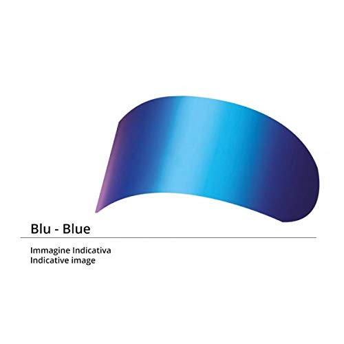 LS2 Visiera Iridium Blue casco Breaker FF390