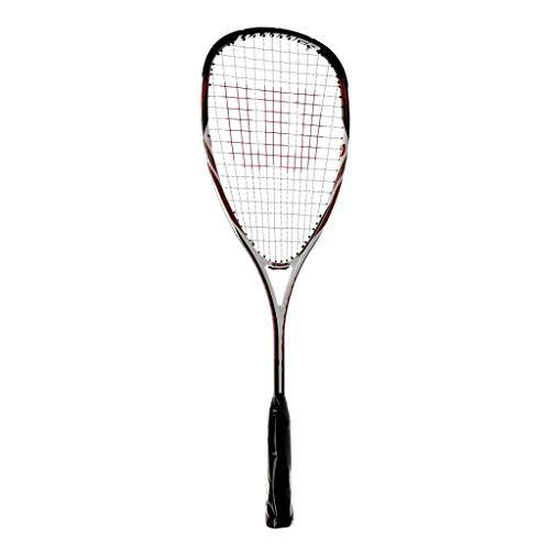 Wilson Squash-Schläger, Hammer Tech Pro, Unisex, Kopflastige Balance, Gelb/Grau, WRT914930