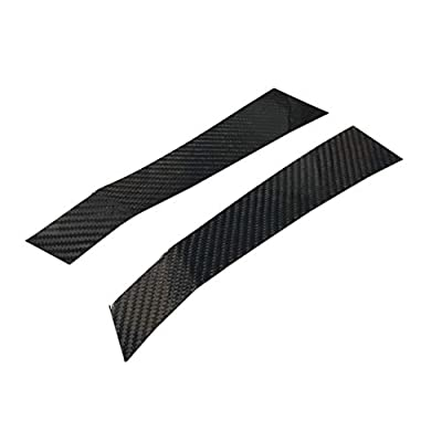 GOGOCARBON Fender Vent Cover Exterior Overlay for Subaru WRX/WRX STI 2015-2020 Dry Carbon Lightweight Strong with UV-Resistant Clear Coating Perfect for an Aggressive Updated Look