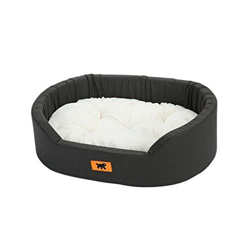 Onnear Huisdierbed Mid West Deluxe voor honden en katten, verkrijgbaar in verschillende maten, autoverwarming en babybed voor ademende dieren, XS