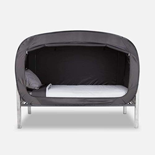 Privacy Pop Bed Tent (Twin) - Black