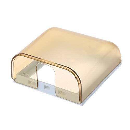 SUCHUANGUANG Universal 86 Tipo Enchufe de Pared Caja Impermeable Placa de Panel Interruptor Cubierta de protección Interruptor Enchufe