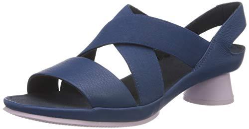 CAMPER Alright, Sandalias para Mujer, Azul, 36 EU