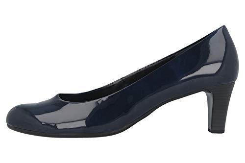 Gabor Fashion Pumps in Übergrößen Blau 41.400.76 große Damenschuhe, Größe:44