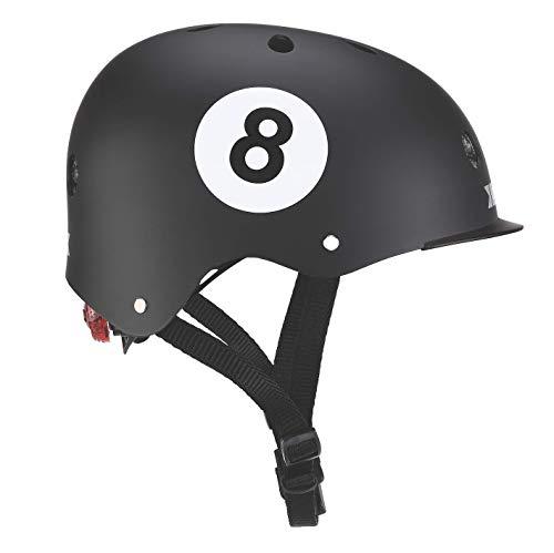 Globber Junior Elite-Design 8 Ball Kinder Jugendliche, Unisex, Schwarz, Größe XS-S