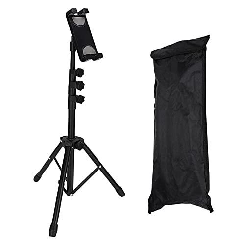 Soporte De Suelo Universal para Tableta con Trípode, Soporte De Metal Ajustable con Bolsa De Viaje para Teléfono Móvil, Cámara