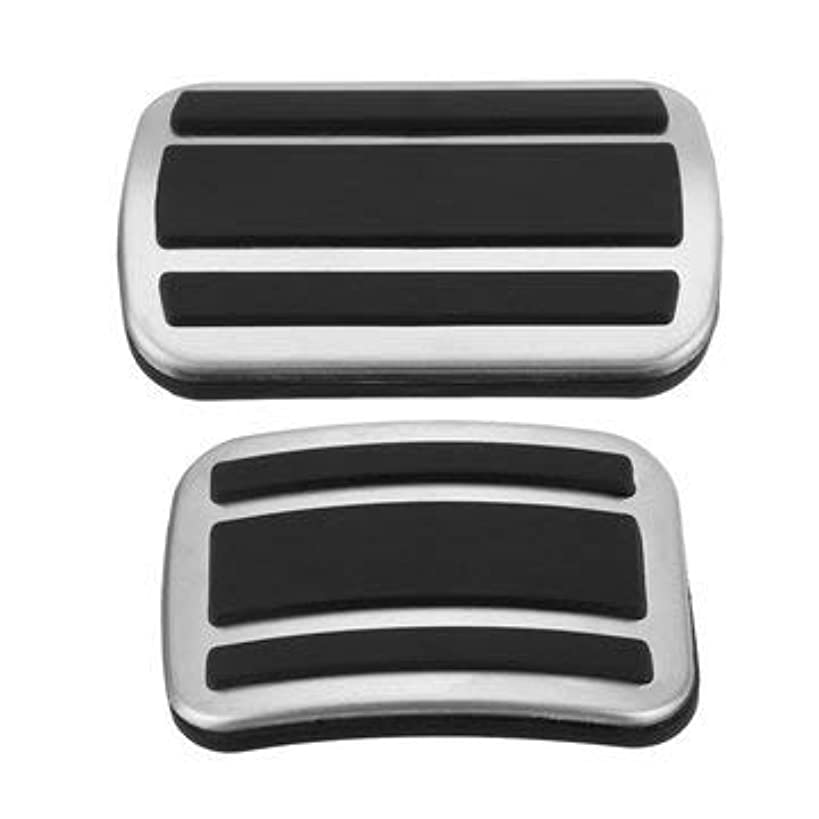 Gas Pedal Cover Vintage Stainless Barefoot Accelerator Chrome Non Slip Racing Pontiac - 1PCs