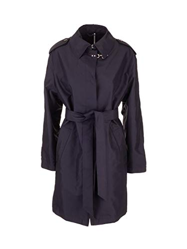 Luxury Fashion | Fay Dames NAW60403790AXXU804 Donkerblauw Polyester Trenchcoats | Lente-zomer 20
