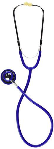 MABIS Caliber Series Dual Head Stethoscope, 30 inch Length, Blue