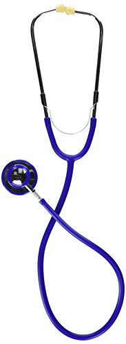 MABIS Caliber Series Dual Head Stethoscope, 30 inch Length, Blue