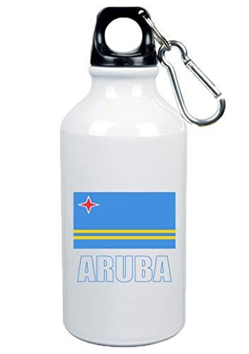 Typolitografie Ghisleri drinkfles Aruba vlag 500 ml aluminium 11