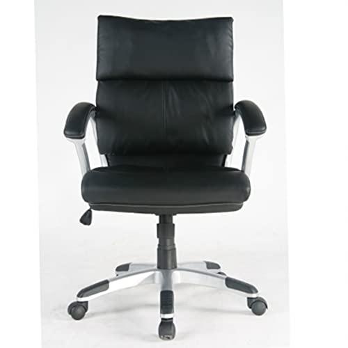 tygerclaw tyfc2209Mid Back piel silla de oficina