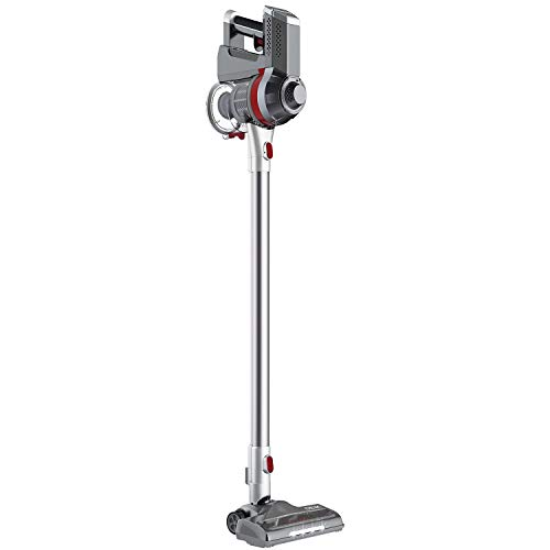 Deik Cordless Vacuum Cleaner, Stick and Handheld Vacuum with Powerful Suction & Wall-Mount...