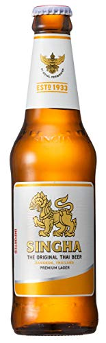 Singha Cerveza - Paquete de 24 x 330 ml - Total: 7920 ml