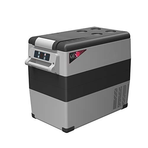 Alpicool LGCF55 Portable Refrigerator 58 Quart(55 Liter) Vehicle, Car, Truck, RV, Boat, Mini Fridge Freezer for Driving, Travel, Fishing, Outdoor -12/24V DC and 110-240V AC