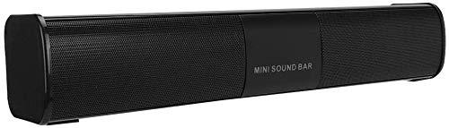 Barra De Sonido para TV Dolby Atmos Bluetooth V4.2 Alta Velocidad Y Tecnología De Audio DSP Estable Pantalla LCD Compatible con Reproducción AUX TF/U Disco Pre-Almacenamiento Negro