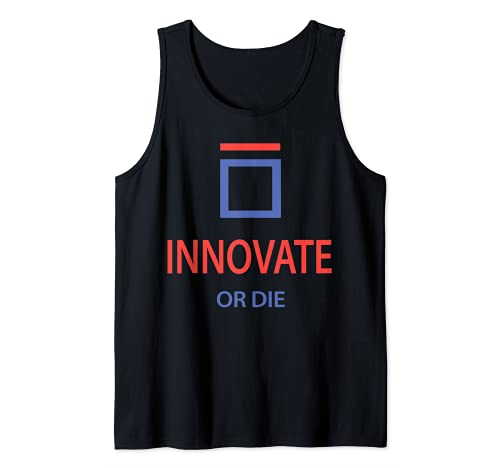 INNOVATE O DIE Shirt 2021 Camiseta sin Mangas