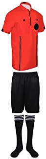 New! Pro Soccer Referee Package (3 Piece with 3 Stripe Socks)