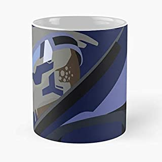Mass Effect Garrus Vakarian Turian - Funny Gifts For Men And Women Gift Coffee Mug Tea Cup White 11 Oz.the Best Holidays.