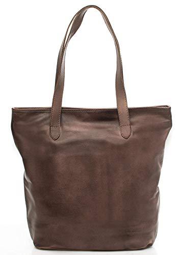 Timberland BORSA DONNA tinto capo borsa shopping verticale Cocoa M4072.PL968