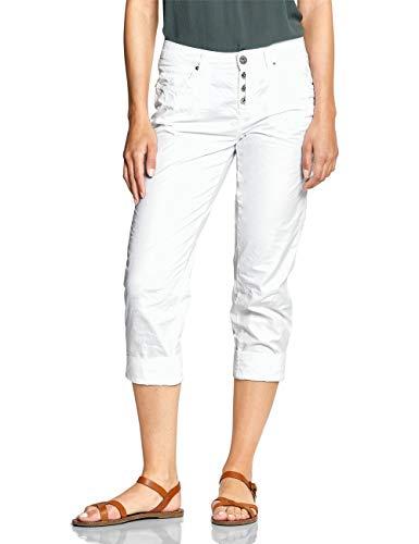 Street One Damen 372269 Jane Hose, Weiß (White 10000), W38 /L26(Herstellergröße:38)