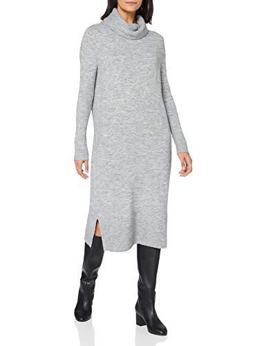 OPUS Wefi Vestido, Hazy Fog Melange - Cuchillo, 36 para Mujer
