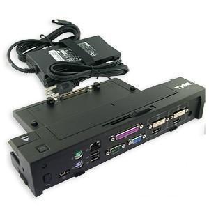 Dell E - Port Plus Fortgeschrittene Replikator Dockingstation USB 2.0 mit Original 130W Netzteil PR02X CY640, VM8F7, HJVX1 K09A für Latitude E-Serie Laptop