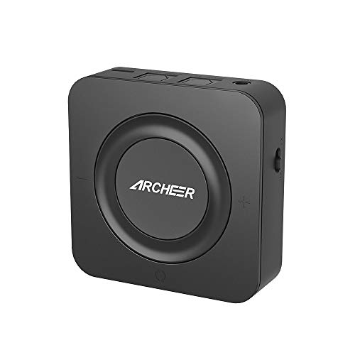 Bluetooth Transmitter/Receiver, ARCHEER Bluetooth Adapter Digital Optical TOSLINK 3.5mm Wireless Audio Adapter TV, Home Stereo System (Up to 19 Hours...
