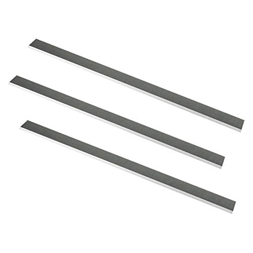 POWERTEC 128051 15-Inch by 1-Inch by 1/8-Inch HSS Planer Knives, Set of 3