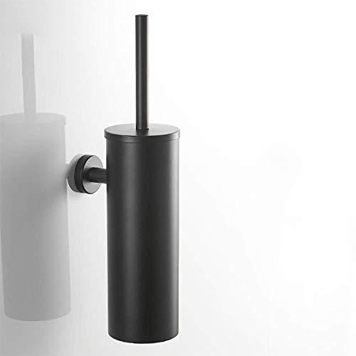 Cepillo de dientes titular de Negro de acero inoxidable 304 de cepillo del tocador pared perforada herramienta de limpieza de tubos Desodorante cepillo Sostenible Stacker Cuarto de baño WC,Negro