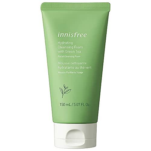 innisfree Green Tea Hydrating Cleansing Foam Creamy Face Cleanser