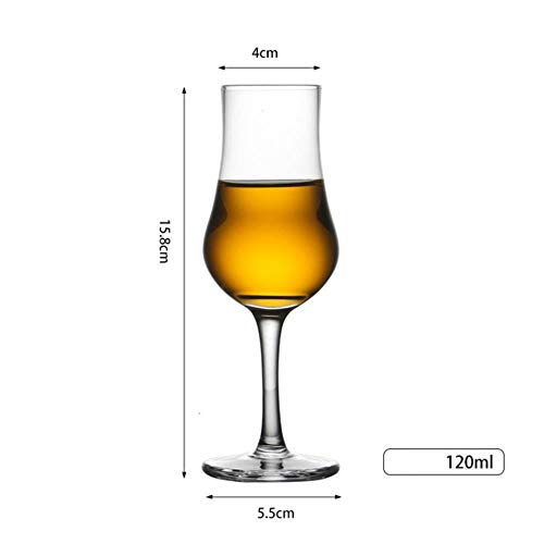 BWM Whiskey Proeven Glas Chateau Whisky Kristal Goblet Wijnbekers