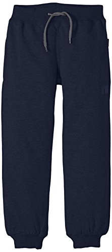 NAME IT SWEAT KIDS PANT UNBRUSHED R NOOS, Pantalon Garçon, Bleu (Dress Blues), 80