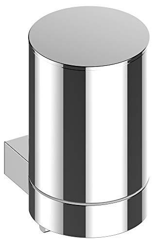 KEUCO Lotion-Spender Metall verchromt_ Inhalt nachfuellbar ca. 180ml_ Seifenspender fuer Bad und Gaeste-WC_ Wandmontage_ Plan