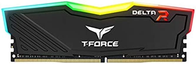 Team 8GB T-Force Delta RGB DDR4 PC4-19200 2400MHz Desktop Memory Model TF3D48G2400HC15B01