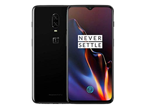 OnePlus 6T A6010 128GB, Dual Sim, 6.41', 8GB RAM, GSM Unlocked International Model, No Warranty (Mirror Black 128GB)