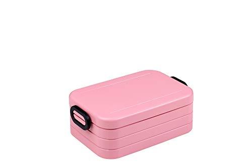 Mepal Lunchbox take a Break midi, Plastic, Nordic Pink, 18.5 x 12 x 6.5 cm, 1 Units
