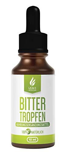 Bitter Tropfen | Hochdosiert | Ketose | Drops mit hochwertiger Rezeptur | 30 Tage Kur | Ketogene Tropfen 10 ml