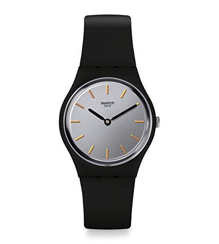 Swatch Reloj Analógico para Mujer de Cuarzo Suizo con Correa en Silicona GB325
