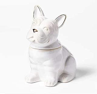 Cravings by Chrissy Teigen French Bulldog Cookie Jar - White